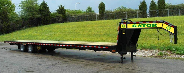Hot Shot Gooseneck Trailer | 40FT GOOSENECK HOT SHOT TRAILER FOR SALE