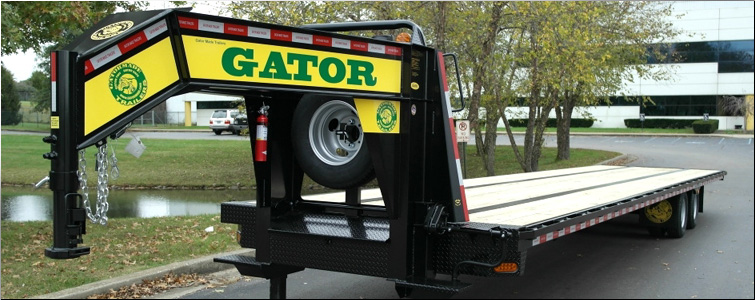 GOOSENECK TRAILER WITH AIR RIDE SUSPENSION FOR SALE